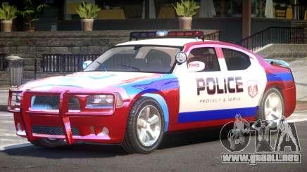 Dodge Charger Police V1.3 para GTA 4
