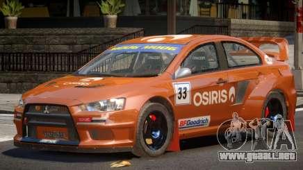 Mitsubishi Lancer GT para GTA 4