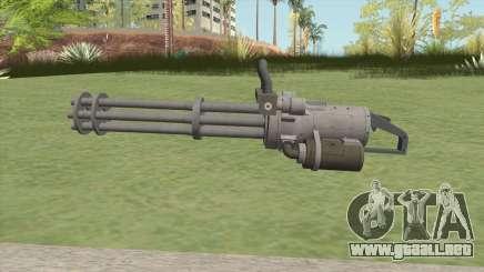 Coil Minigun (Platinum) GTA V para GTA San Andreas