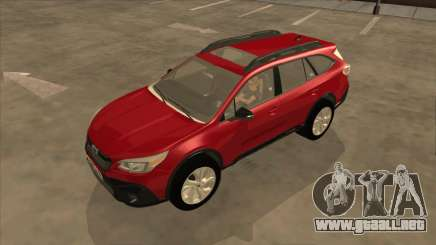 Subaru Outback 2020 para GTA San Andreas