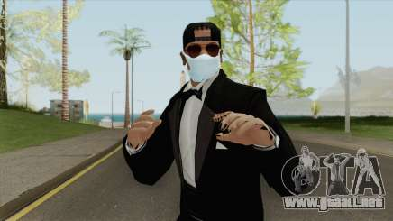 Random Male Skin (Medical Mask) para GTA San Andreas