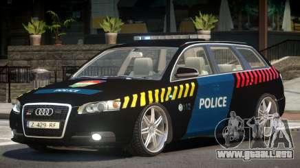 Audi S4 Police V1.0 para GTA 4