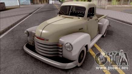 Chevrolet 3100 1951 para GTA San Andreas