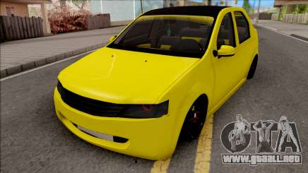 Dacia Logan 2004 Minion Edition para GTA San Andreas