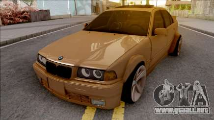 BMW 3-er E36 Wide Body para GTA San Andreas