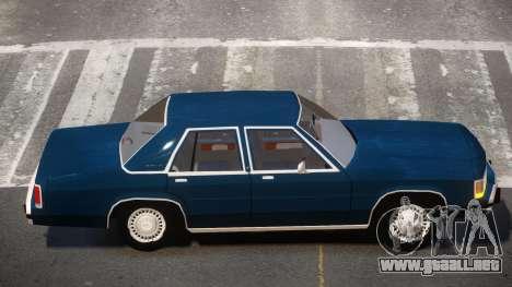 1989 Ford Crown Victoria para GTA 4