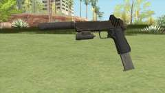 Heavy Pistol GTA V (OG Black) Full Attachments para GTA San Andreas