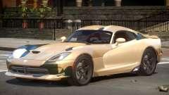 Dodge Viper SRT GTS PJ1 para GTA 4