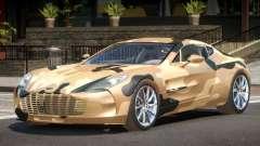 Aston Martin One 77 PJ3 para GTA 4