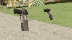 Heavy Pistol GTA V (Platinum) Flashlight V1 para GTA San Andreas