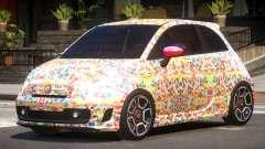 Fiat 500 Abart PJ5 para GTA 4
