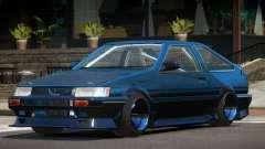 1986 Toyota Corolla Tuned para GTA 4