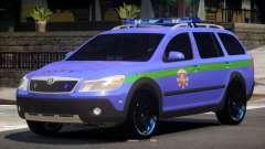 Skoda Octavia Scout Police V1.0
