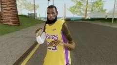 Lebron James (Lakers) para GTA San Andreas