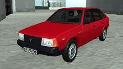 Moskvich 2141 Rojo para GTA San Andreas