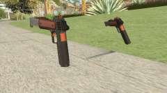 Heavy Pistol GTA V (Orange) Base V2 para GTA San Andreas