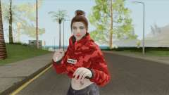 Random Female V6 (GTA Online) para GTA San Andreas