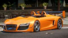 Audi R8 GT Roadster