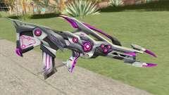 Famas (Black Widow Purple) para GTA San Andreas