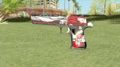 Desert Eagle (Graffiti) para GTA San Andreas
