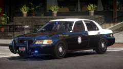 Ford Crown Victoria FS Police V1.1 para GTA 4