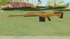 Heavy Sniper GTA V (Gold) V2 para GTA San Andreas