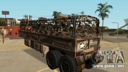 MTL Cuartel Semi Remolque para GTA San Andreas