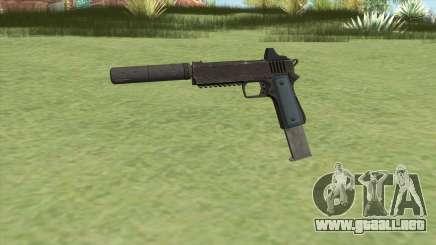 Heavy Pistol GTA V (LSPD) Suppressor V2 para GTA San Andreas