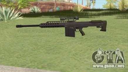Heavy Sniper GTA V (Green) V3 para GTA San Andreas