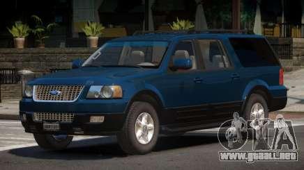 2006 Ford Expedition EL (Final) para GTA 4
