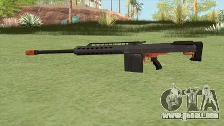 Heavy Sniper GTA V (Orange) V2 para GTA San Andreas