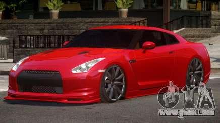 Nissan GT-R Tuned para GTA 4