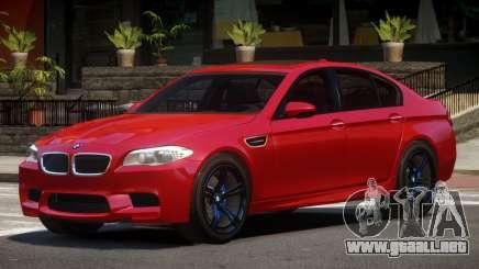 BMW M5 F10 TDI para GTA 4