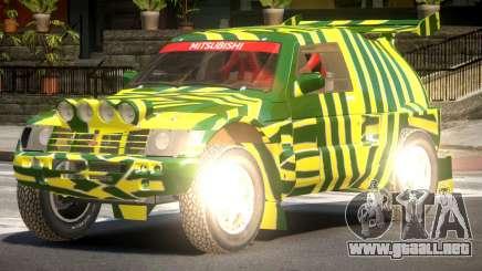 Mitsubishi Pajero Rally Sport PJ1 para GTA 4