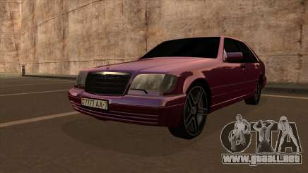 Mercedes Benz W140 Long V1 para GTA San Andreas
