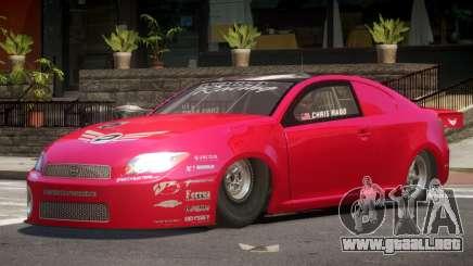 Scion tC RR para GTA 4