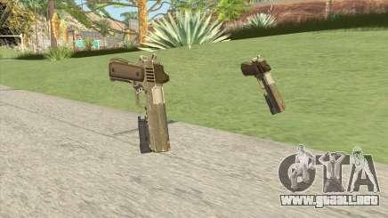 Heavy Pistol GTA V (Army) Flashlight V1 para GTA San Andreas
