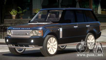 Range Rover Supercharged LT para GTA 4