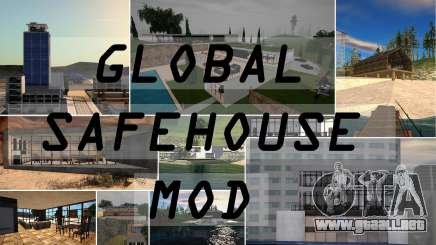Global Refugio Mod para GTA San Andreas