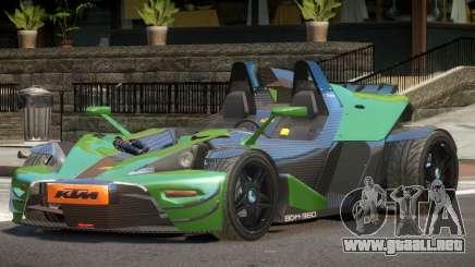 KTM X-Bow GT para GTA 4