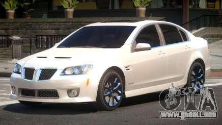 Pontiac G8 RS para GTA 4