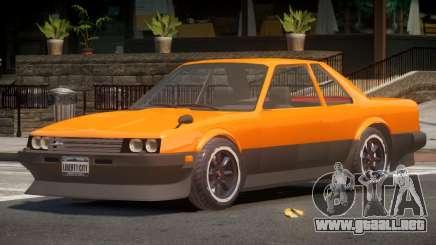 Nissan Skyline R30 V1.0 para GTA 4