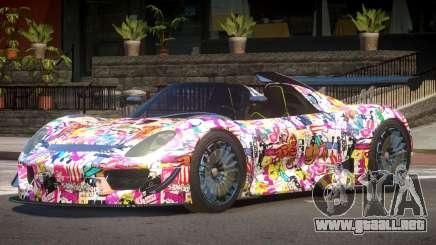 Porsche 918 GT-Sport PJ3 para GTA 4