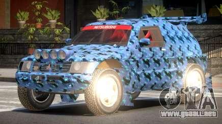Mitsubishi Pajero Rally Sport PJ3 para GTA 4