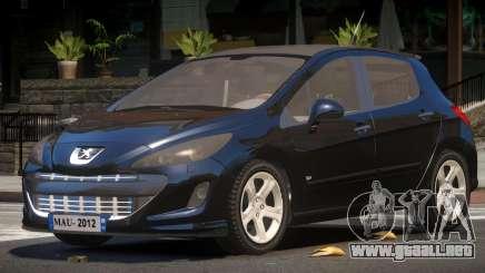 Peugeot 308 RS para GTA 4