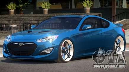 Hyundai Genesis Edit para GTA 4