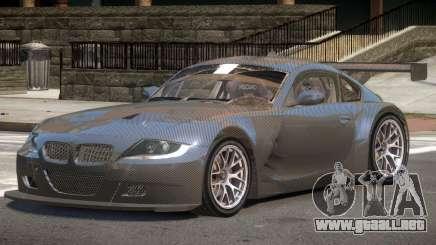 BMW Z4M GT Sport PJ2 para GTA 4
