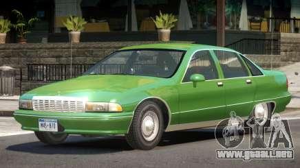 1992 Chevrolet Caprice para GTA 4