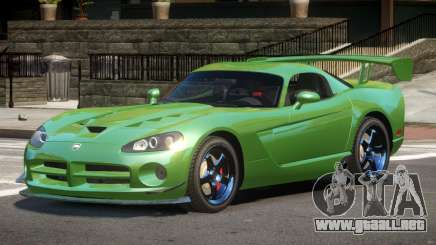 Dodge Viper SRT Drift para GTA 4