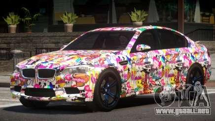 BMW M5 F10 RS PJ3 para GTA 4